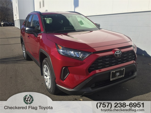 New 2019 Toyota Rav4 Le 4d Sport Utility In Virginia Beach T59676