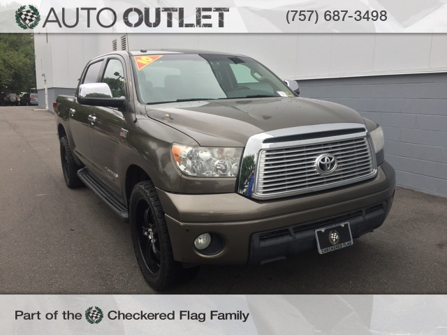 Pre Owned 2010 Toyota Tundra Limited 4d Crewmax In Virginia Beach