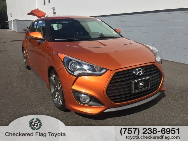 Pre Owned 2014 Hyundai Veloster Turbo 3d Hatchback In Virginia Beach